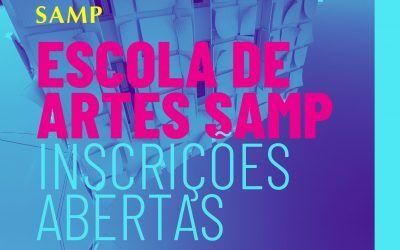 Inscrições Abertas 2020-2021 | Escola de Artes SAMP